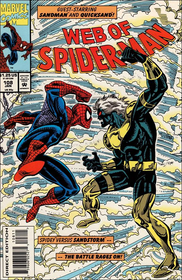 Web of Spider-Man (1985) 108-A by Marvel