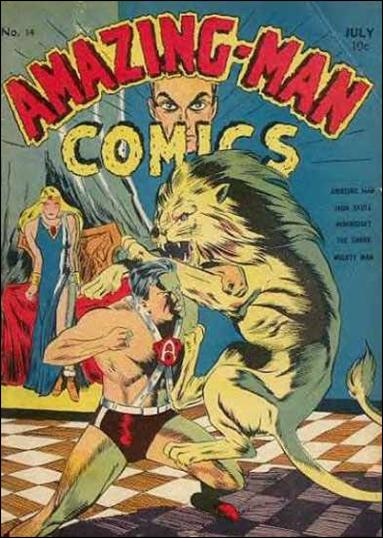 Amazing Man Comics 14-A by Centaur Publications Inc.