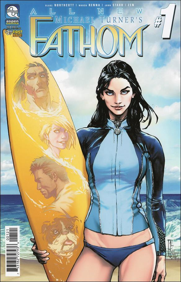 All New Michael Turner's Fathom 1-B by Aspen