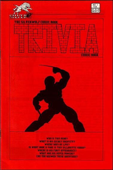 Silverwolf Comic Book Trivia Comic Book 1-A by Silverwolf