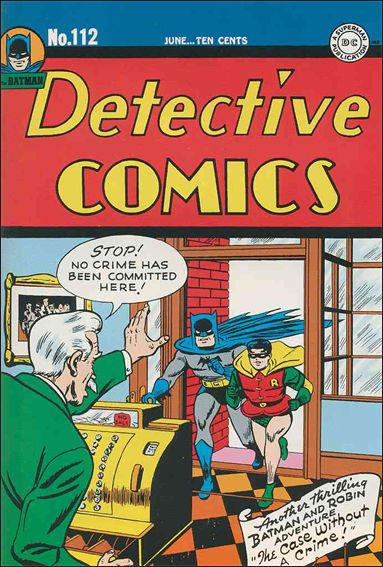 Detective Comics (1937) 112-A by DC