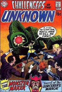 Challengers of the Unknown (1958) 76-A by DC