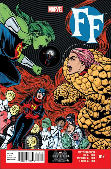 FF (2013) 12-A by Marvel