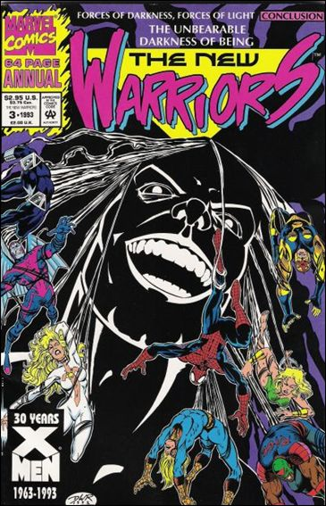 New Warriors Annual 3-B by Marvel