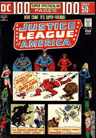 Justice League of America (1960) 110-A by DC