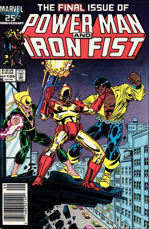 Power Man and Iron Fist (1978) 125-A by Marvel