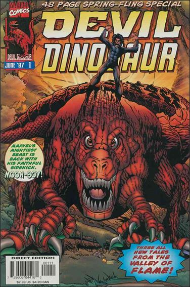 Devil Dinosaur Spring Fling 1-A by Marvel