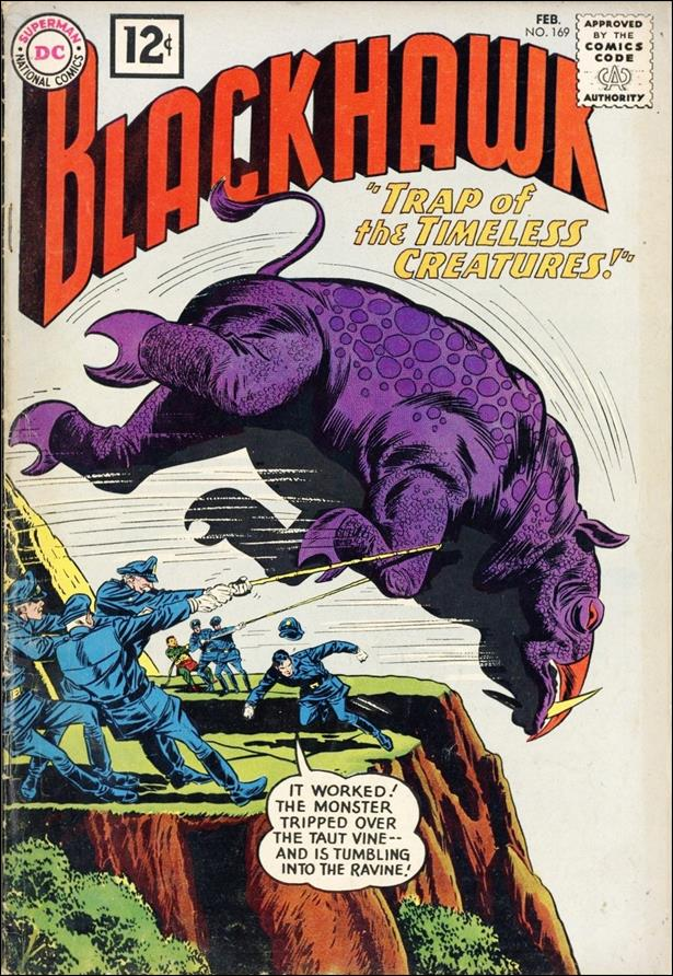 Blackhawk (1944) 169-A by DC