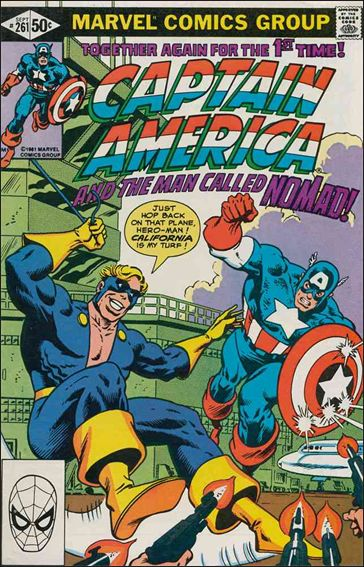 Captain America (1968) 261-A by Marvel