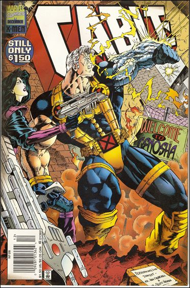 Cable (1993) 26-B by Marvel