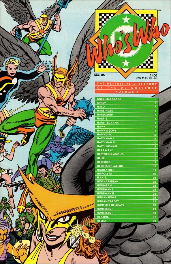 Who's Who: The Definitive Directory of the DC Universe 10-A by DC