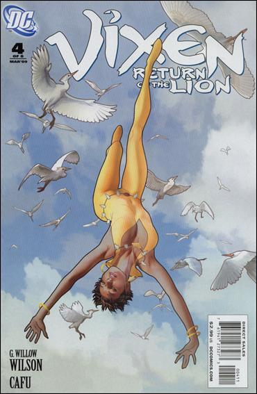 Vixen: Return of the Lion 4-A by DC