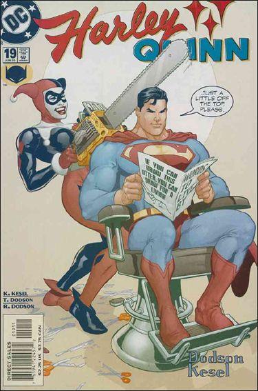 Harley Quinn (2000) 19-A by DC