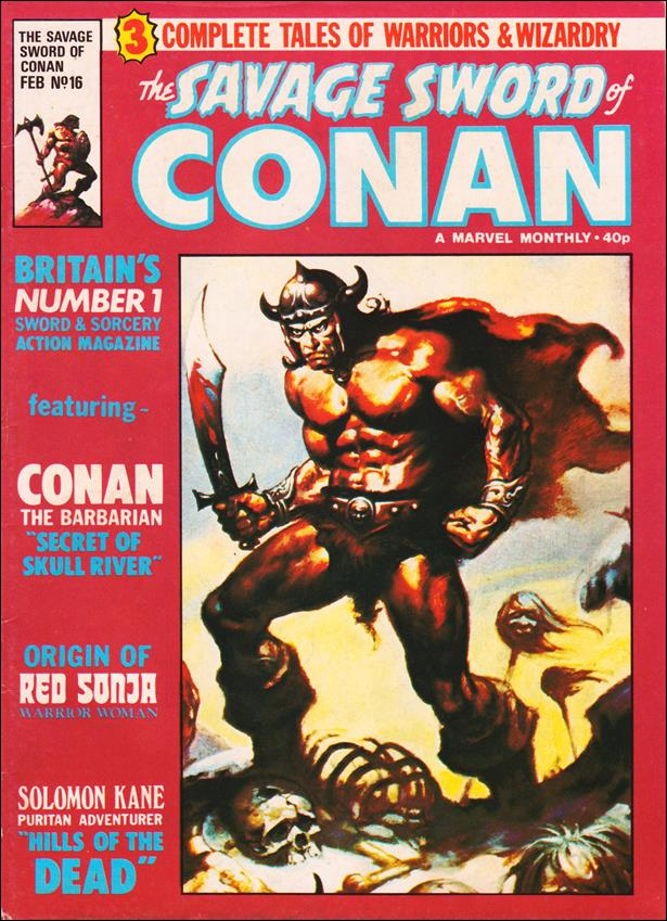 Savage Sword of Conan (UK) (1977) 16-A by Marvel UK