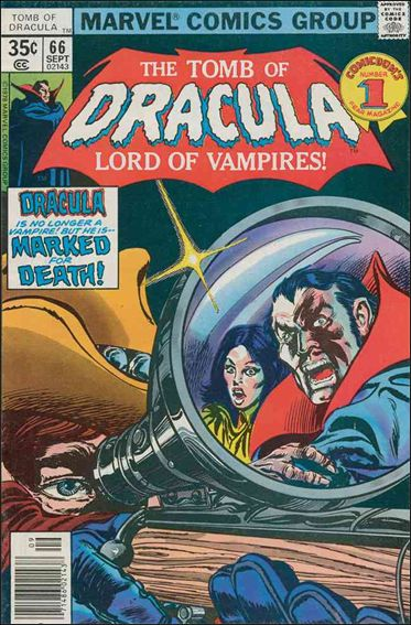 Tomb of Dracula (1972) 66-A by Marvel
