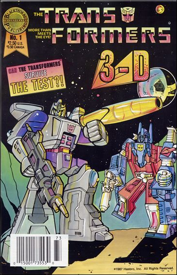 Transformers in 3-D: Blackthorne 3-D Series 1-A by Blackthorne