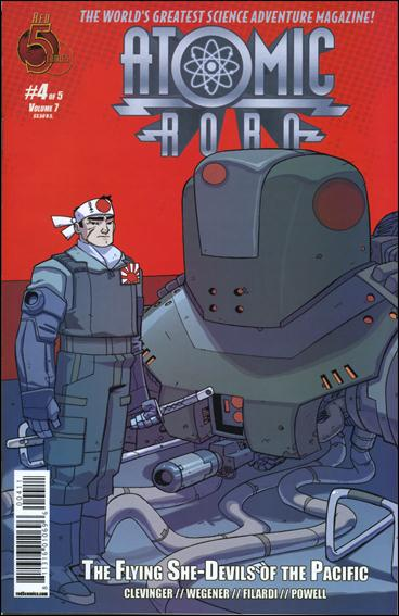 Atomic Robo and the Flying She-Devils of the Pacific 4-A by Red 5 Comics