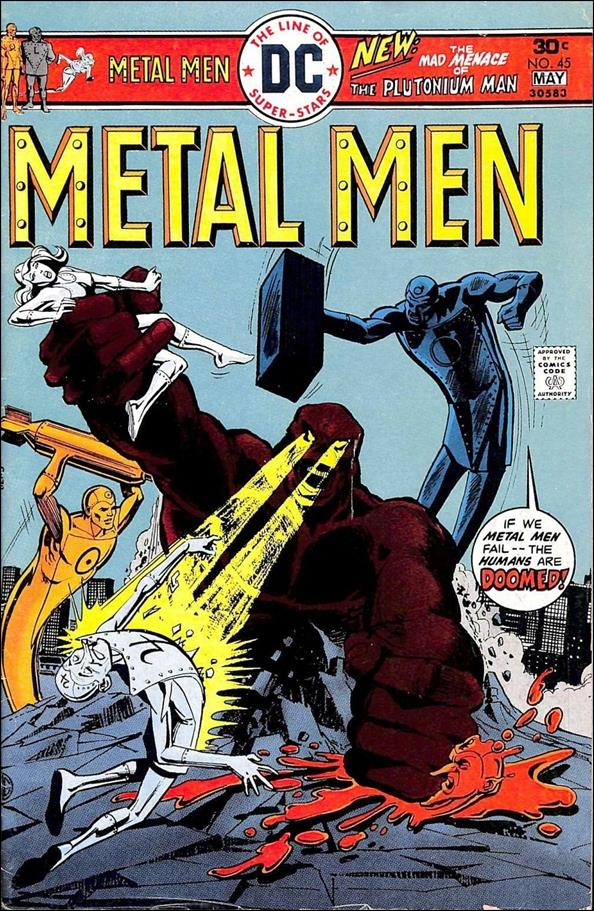 Metal Men (1963) 45-A by DC