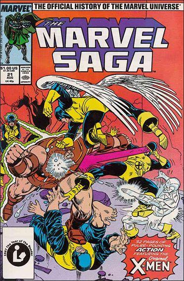 Marvel Saga 21-A by Marvel