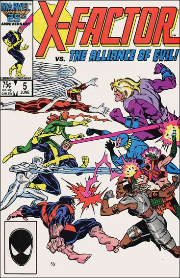 X-Factor (1986) 5-A by Marvel
