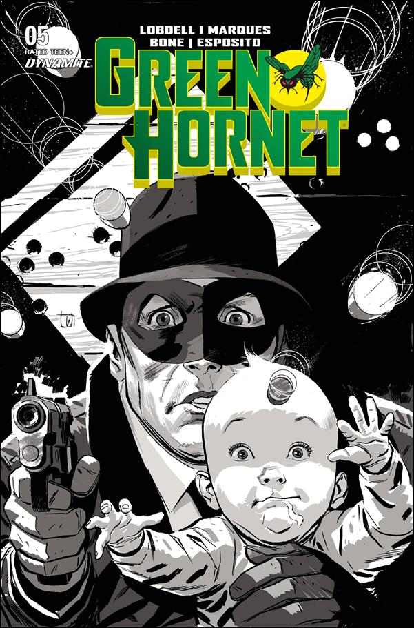 Green Hornet (2020) 5-F by Dynamite Entertainment