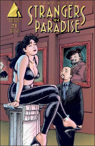 Terry Moore's Strangers in Paradise 21-A by Abstract Studio
