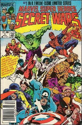 Marvel Super Heroes Secret Wars 1-C by Marvel