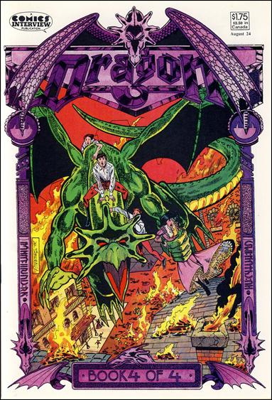 Dragon (1987) 4-A by Comics Interview