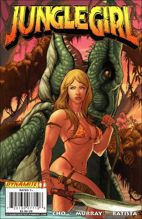 Jungle Girl (2007) 1-B by Dynamite Entertainment