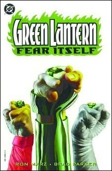 Green Lantern: Fear Itself 1-A by DC