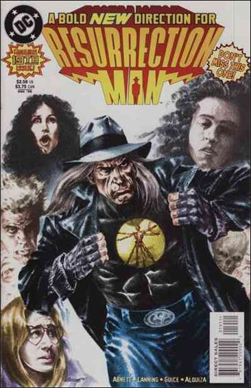 Resurrection Man (1997) 19-A by DC