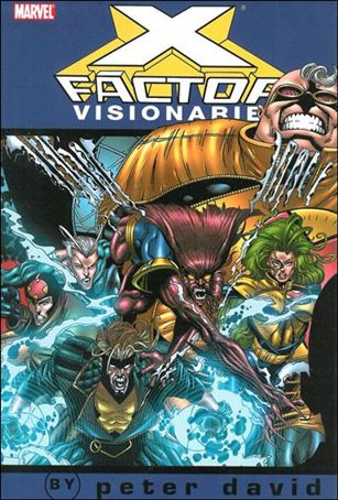 X-Factor Visionaries: Peter David 4-A