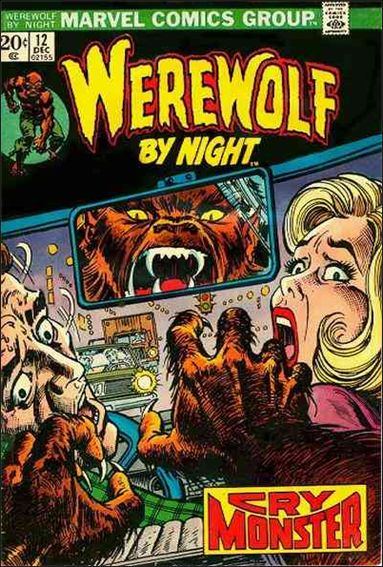 Werewolf by Night (1972) 12-A by Marvel