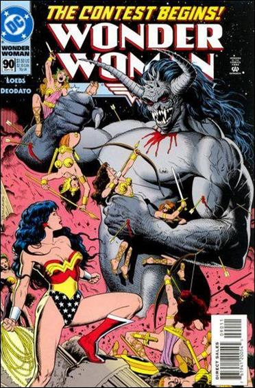 Wonder Woman (1987) 90-A by DC