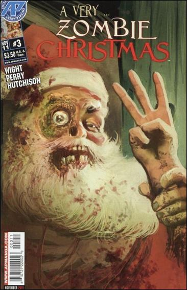 Very Zombie Christmas 3-A by Antarctic Press