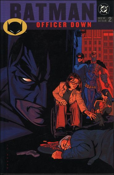 Batman: Officer Down 1-A by DC