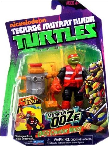 Teenage Mutant Ninja Turtles (2012) Ooze Chuckin' Mikey by Playmates