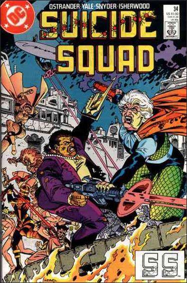 Suicide Squad (1987) 34-A by DC