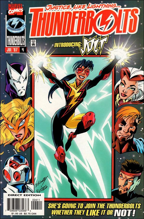 Thunderbolts (1997) 4-A by Marvel