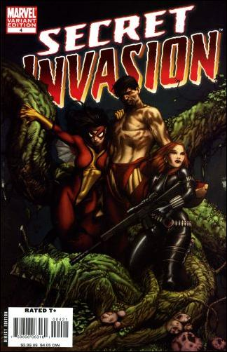 Secret Invasion 4-B by Marvel