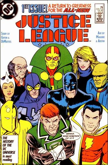 Justice League (1987) 1-A by DC