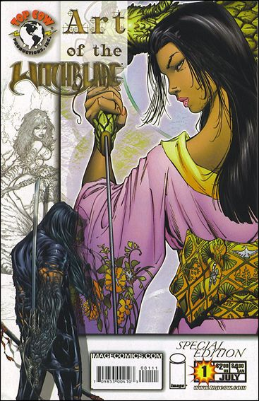 Witchblade: Art of the Witchblade 1-A by Top Cow