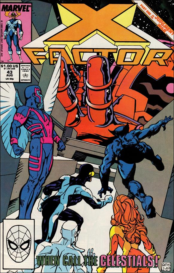 X-Factor (1986) 43-A by Marvel