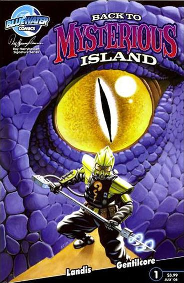 Back to Mysterious Island 1-A by Bluewater Comics