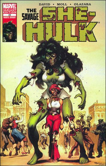 She-Hulk (2005) 22-B by Marvel