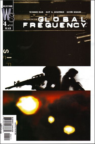 Global Frequency 4-A by WildStorm