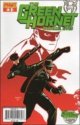 Green Hornet: Parallel Lives 3-A by Dynamite Entertainment