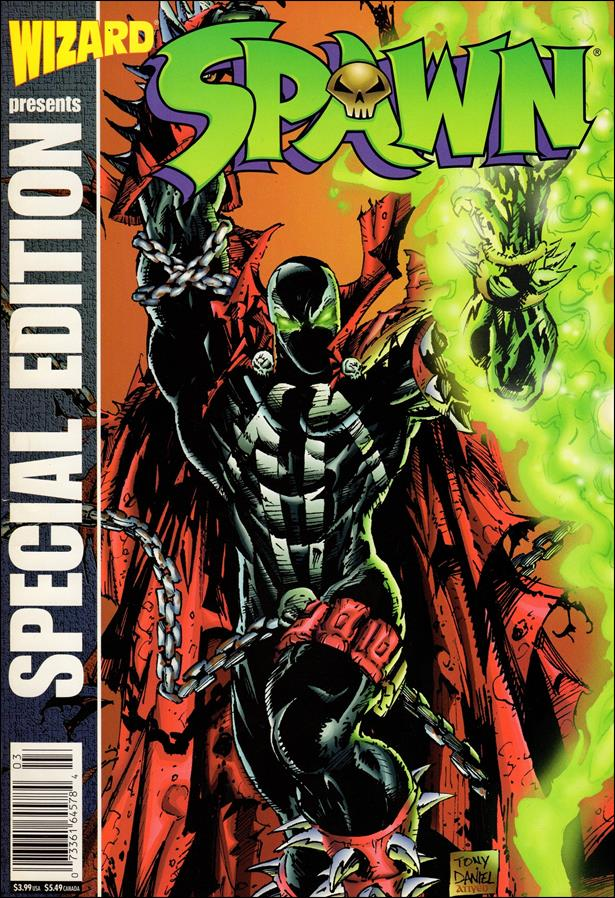 Wizard: Spawn Tribute Edition 1-A by Wizard Press
