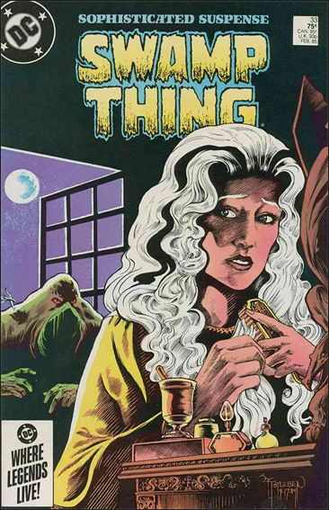 Saga of the Swamp Thing 33-A by DC