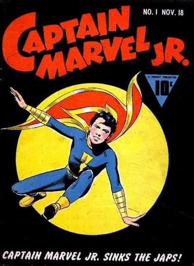 Captain Marvel Jr. 1-A by Fawcett